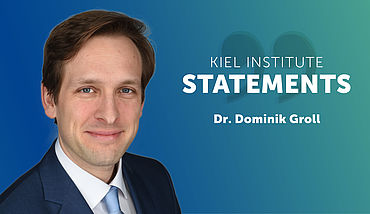 Dr. Dominik Groll - Kiel Institute Statements - Forecasting Center - Topics: Business Cycle, Labor Market, Migration