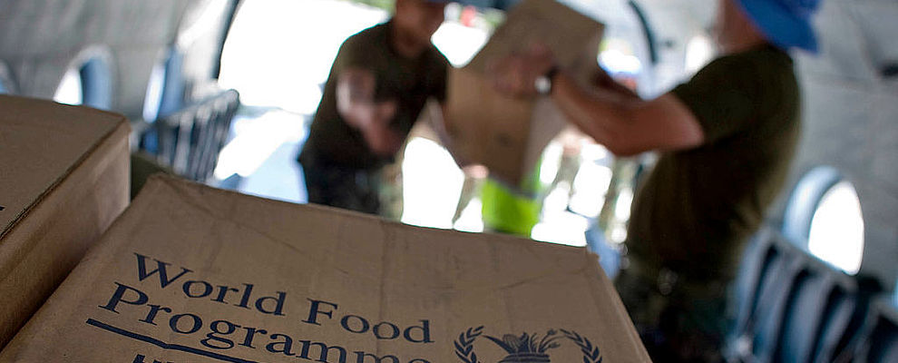 "WFP Donates Food to Victims of ""Hanna"" Storm in Haiti"