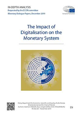 "Cover ""The Impact of Digitalisation on the monetary system"""