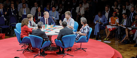 Global Solutions Conference round table
