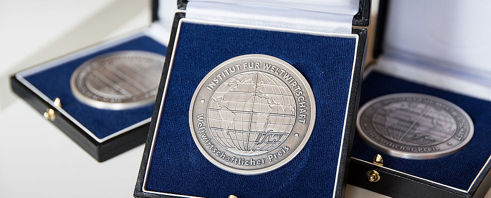 Global Economy Prize medals