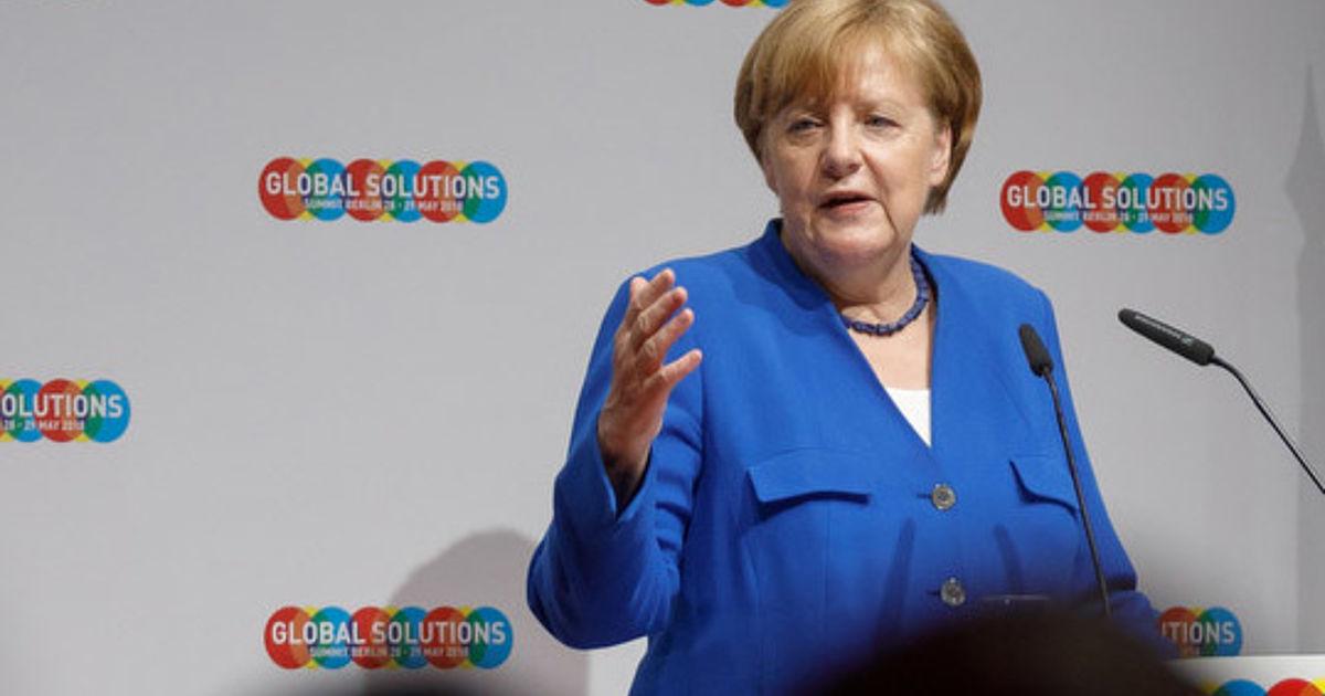 Angela Merkel Kiel