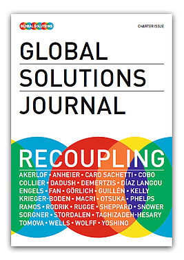 Cover Global Solutions Journal 2018